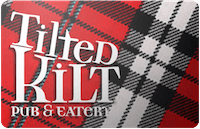 Tilted Kilt gift card