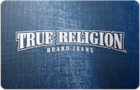 True Religion Jeans gift card