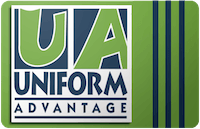 Uniform Advantage gift card
