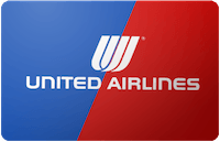United Airlines gift card