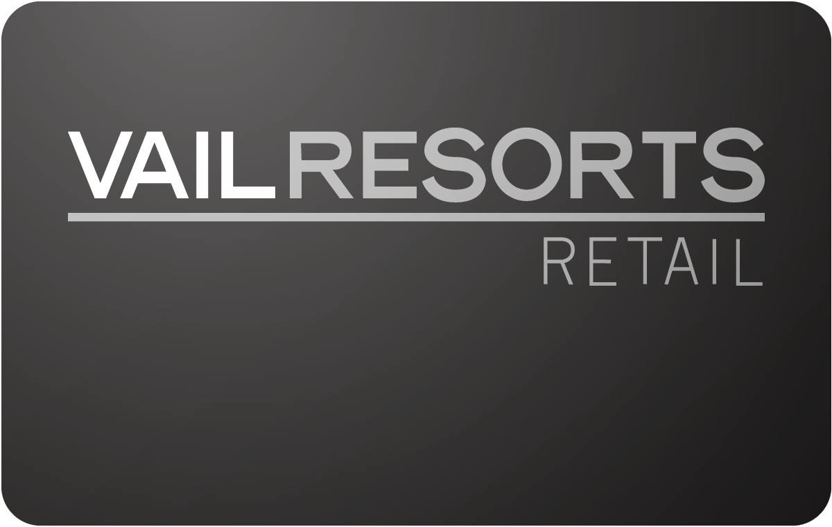 Vail Resorts Retail gift card