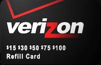 VerizonPrepaid Card gift card