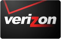 Verizon Wireless gift card