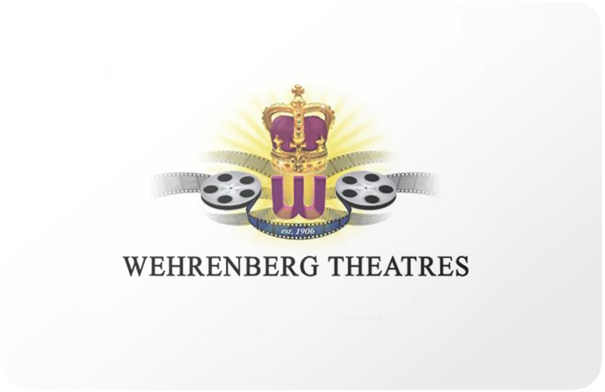 Wehrenberg Theatres gift card