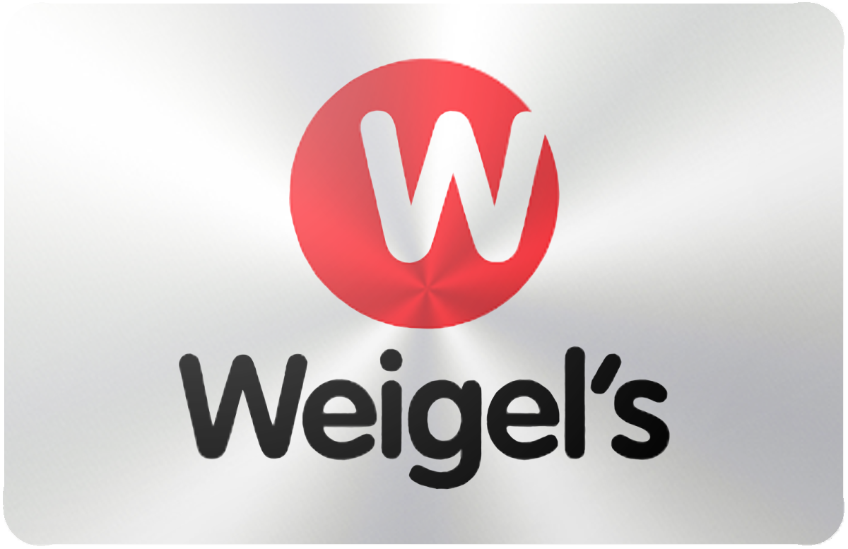 Weigel's gift card