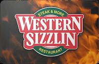 Western Sizzlin gift card