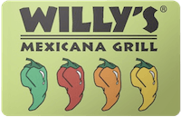 Willy's Mexicana Grill gift card