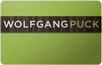 Wolfgang Puck gift card
