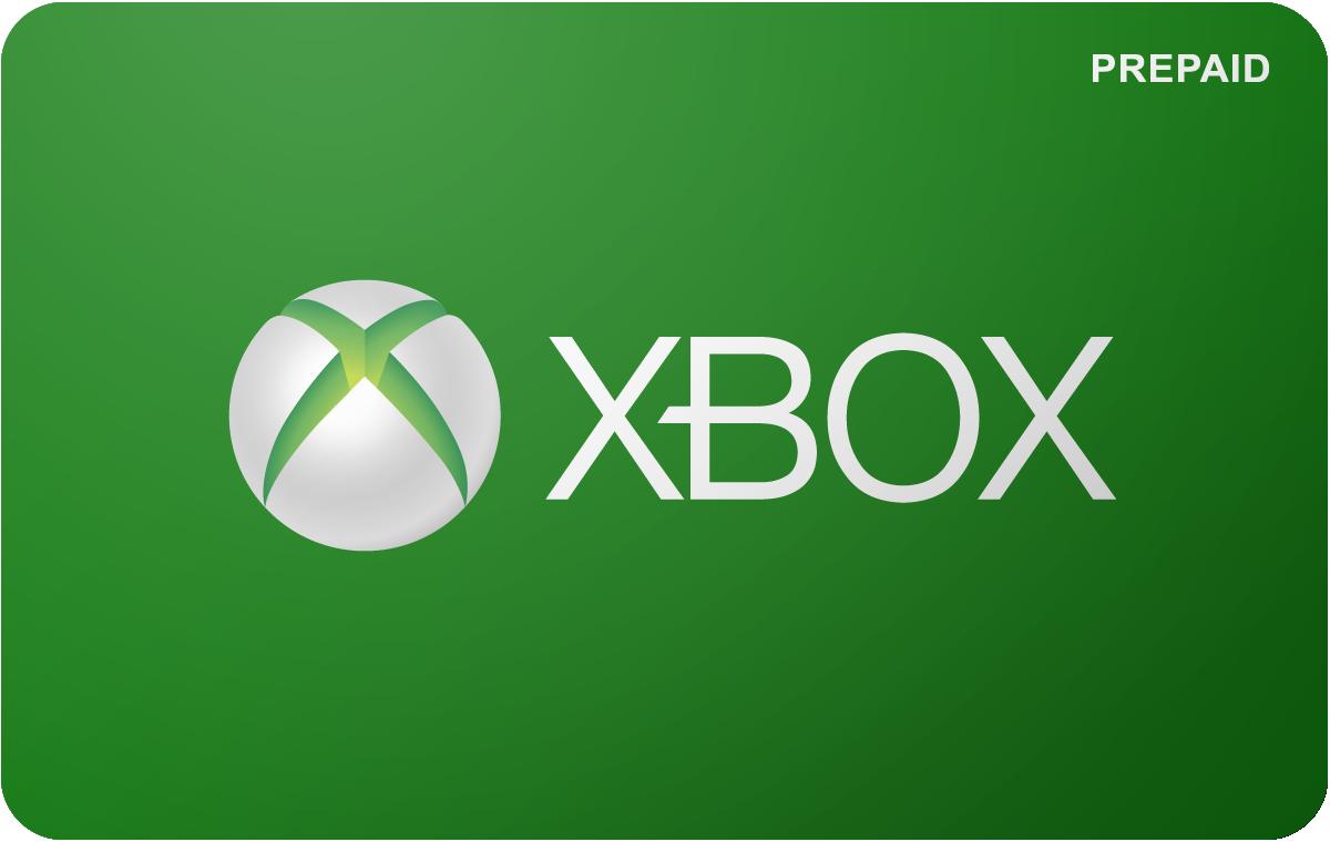 Xbox Prepaid gift card