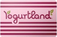 Yogurt Land gift card