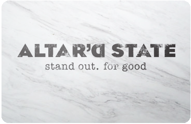 Altar'd State gift card