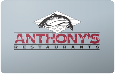 Anthony's Restaurant  gift card