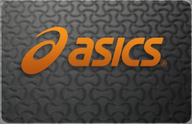 Asics gift card