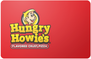 Hungry Howies gift card