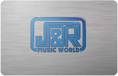 J & R Music World gift card