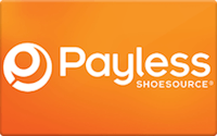 Payless In Store Only gift card