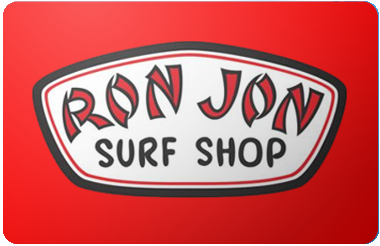 Ron Jon gift card