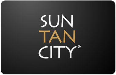 Sun Tan City gift card