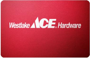 Westlake Hardware gift card