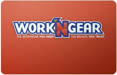Work 'n Gear gift card