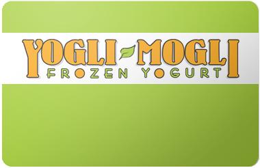 Yogli Mogli gift card