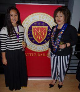 Ecuyer Cheung, Queena Vice Conseiller Gastronomique, Betty Sasenick