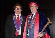 Chevalier Jonathan Anthony and Grand Echanson Joe D'Ambrosio