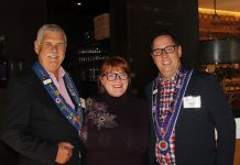 Mike Monnin, Emmy Friedrichs and Chevalier Marcus Relthford