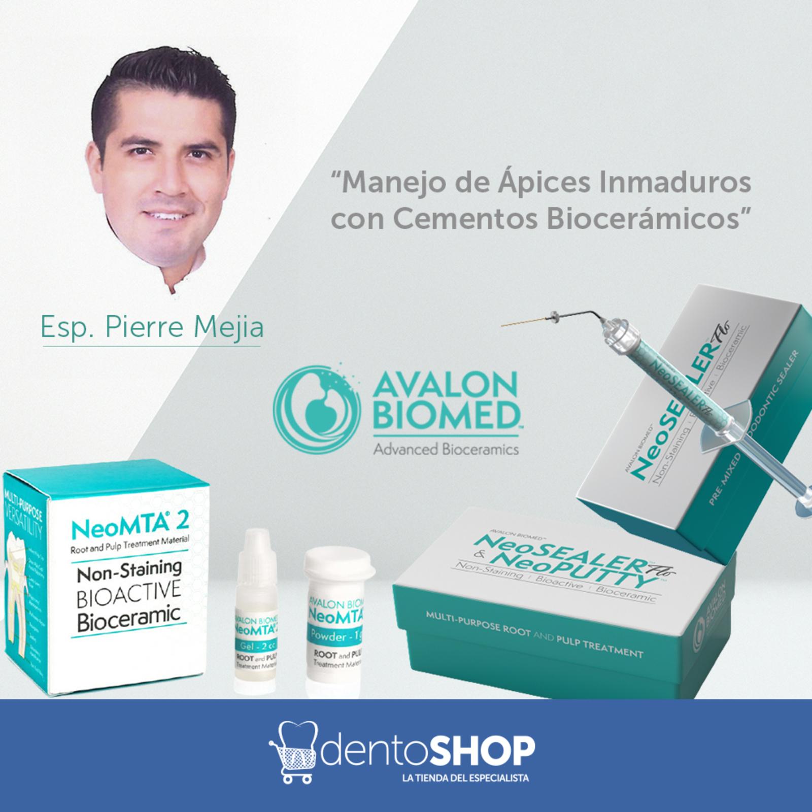 """""""Manejo de Ápices Inmaduros con  Cementos Biocerámicos"""""""
