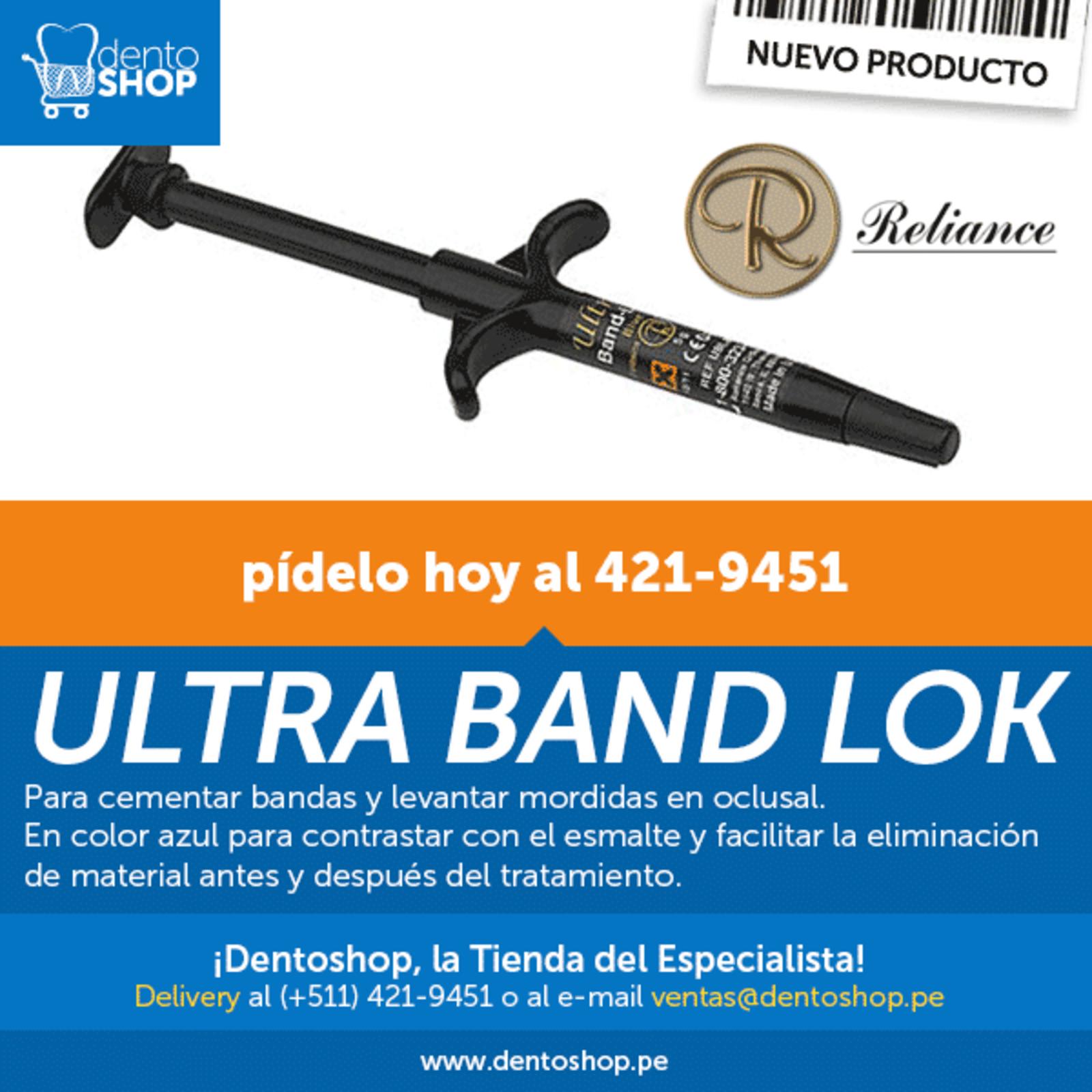 Lanzamiento: ULTRA BAND LOK de Reliance