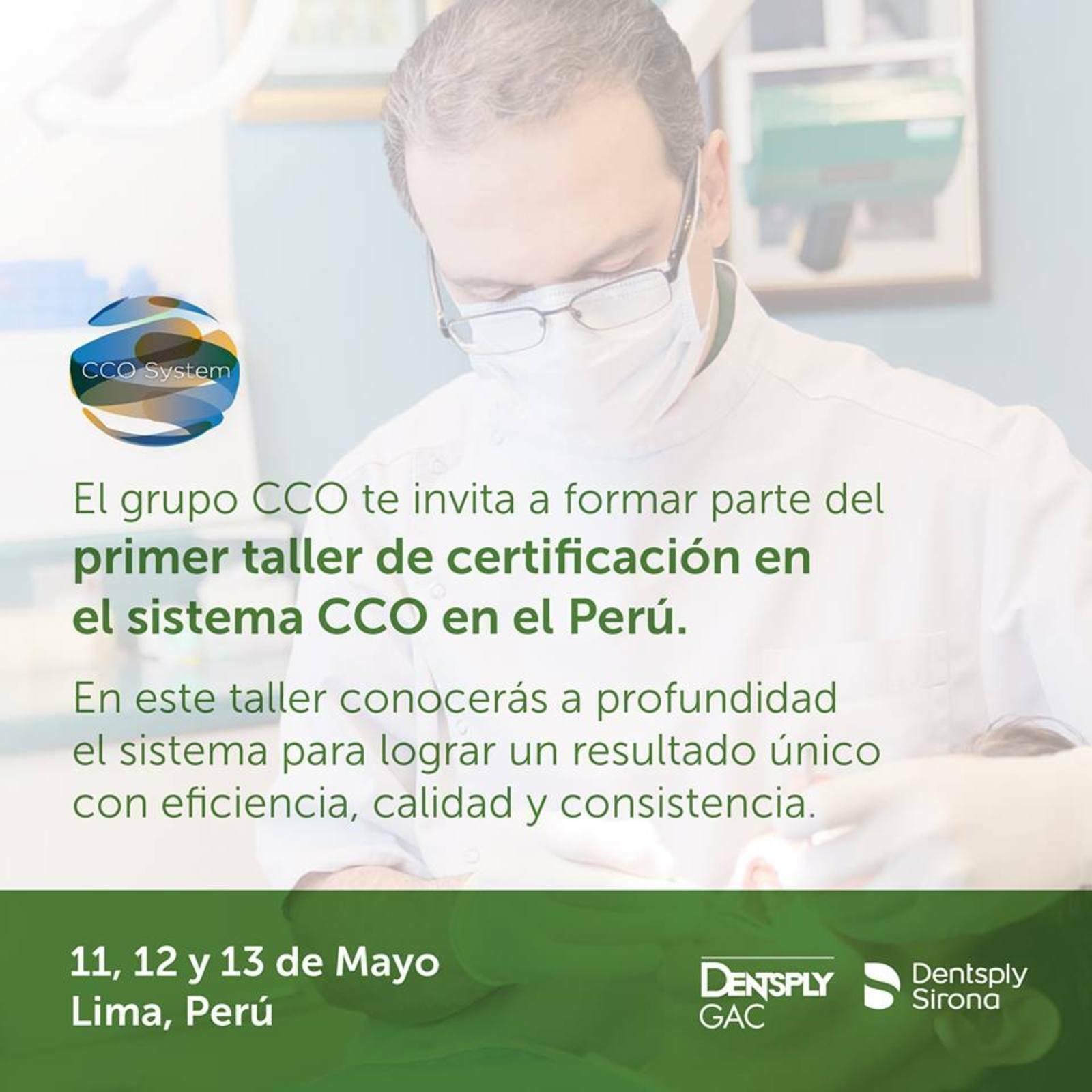 Certificación en el sistema CCO