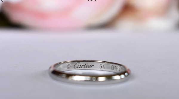 Classic Cartier 2 5 Mm Wedding Band Loupe Troop