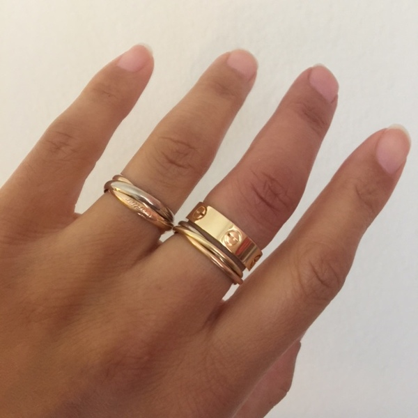 Sold Cartier Love Ring Classic Loupe Troop