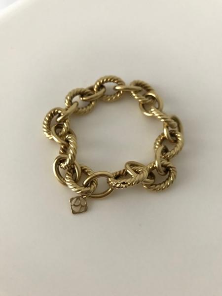 78debd82a David Yurman Large Oval Link Bracelet in 18K Gold | Loupe Troop