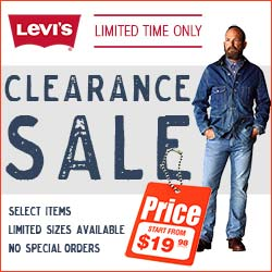 Levis Clearance Sale Limited Time Only