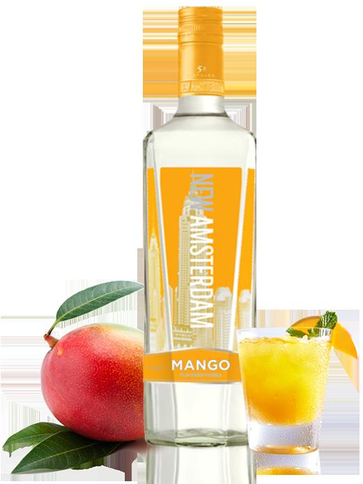 Vodka Sunrise Cocktail Recipe | Mango Vodka Drink