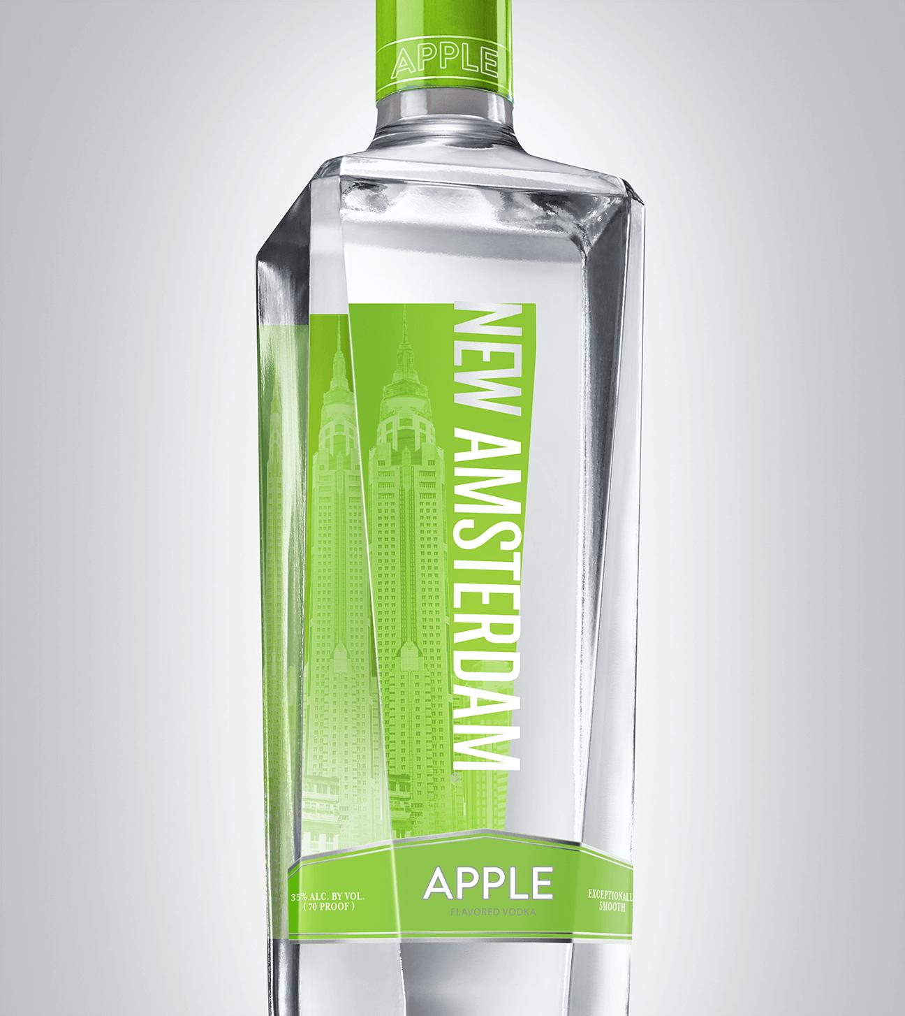 Bottle of New Amsterdam Apple