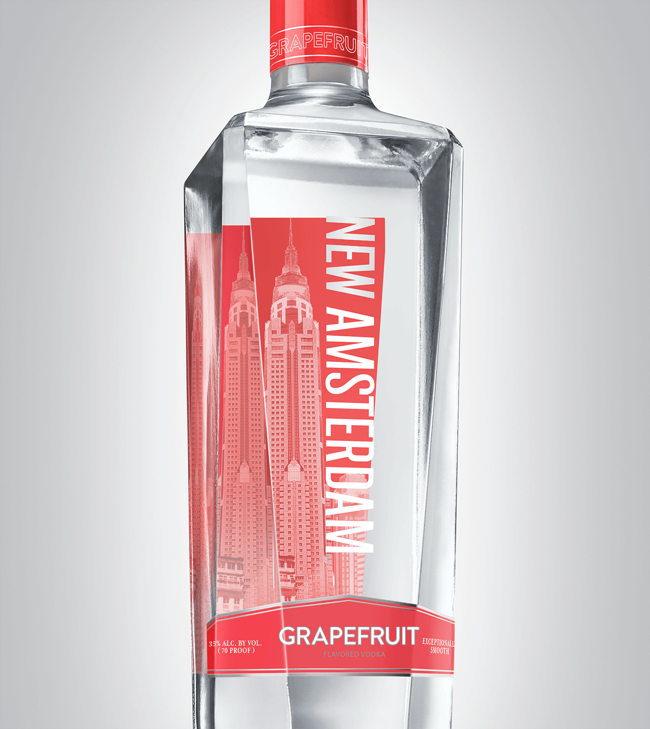 Bottle of New Amsterdam Grapefruit
