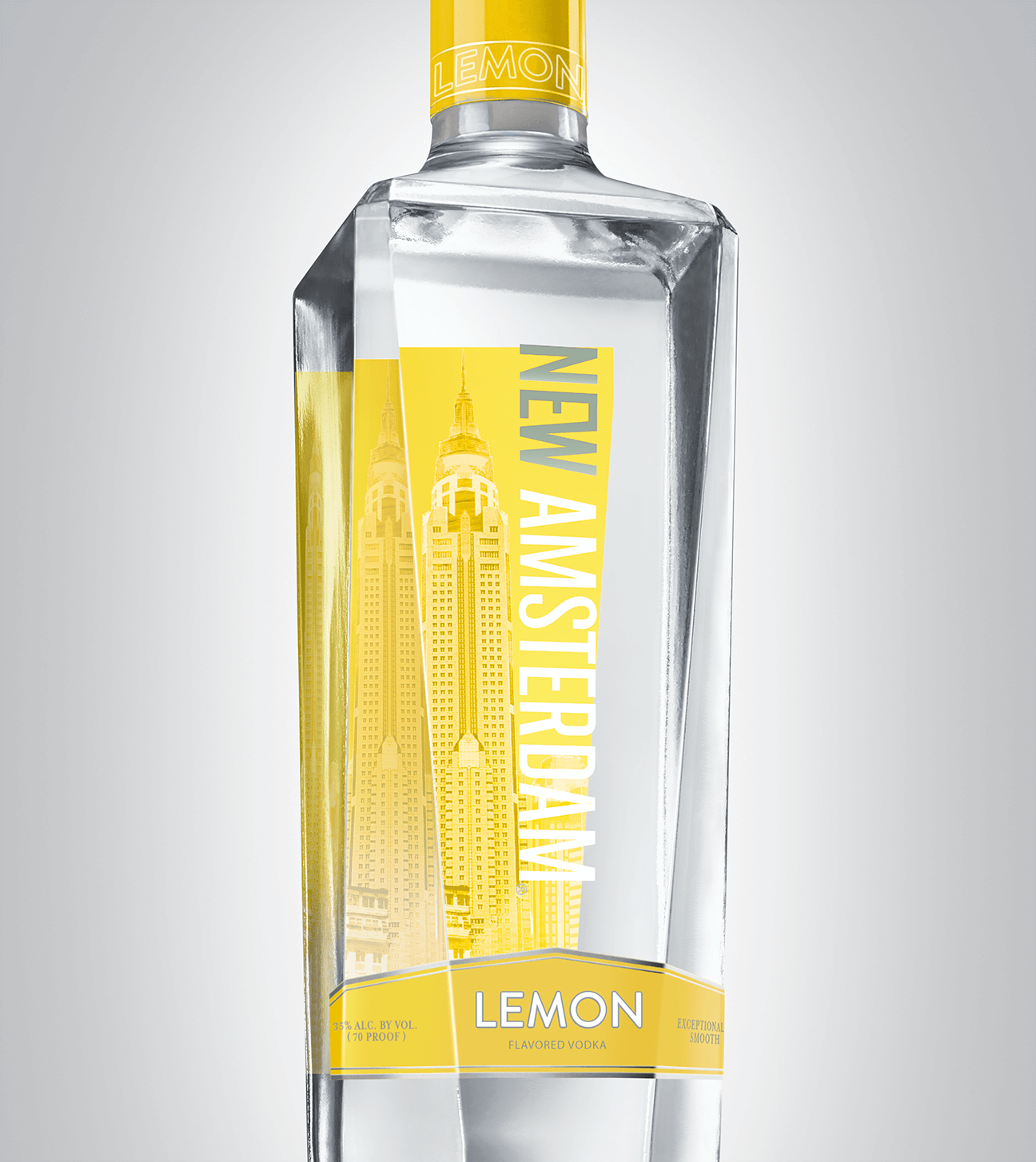 Bottle of New Amsterdam Lemon