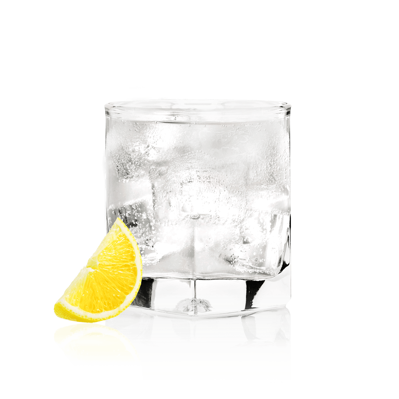 Glass of NEW AMSTERDAM<sub>®</sub> SODA