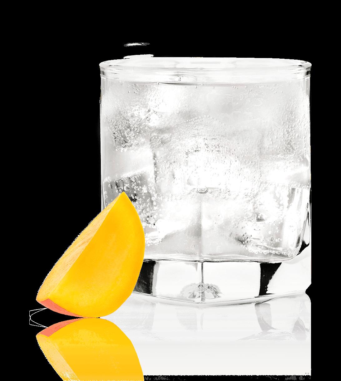 Glass of NEW AMSTERDAM<sub>®</sub> MANGO SODA