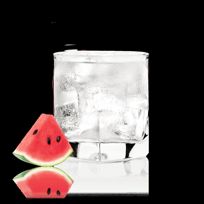 Glass of NEW AMSTERDAM<sub>®</sub> WATERMELON SODA