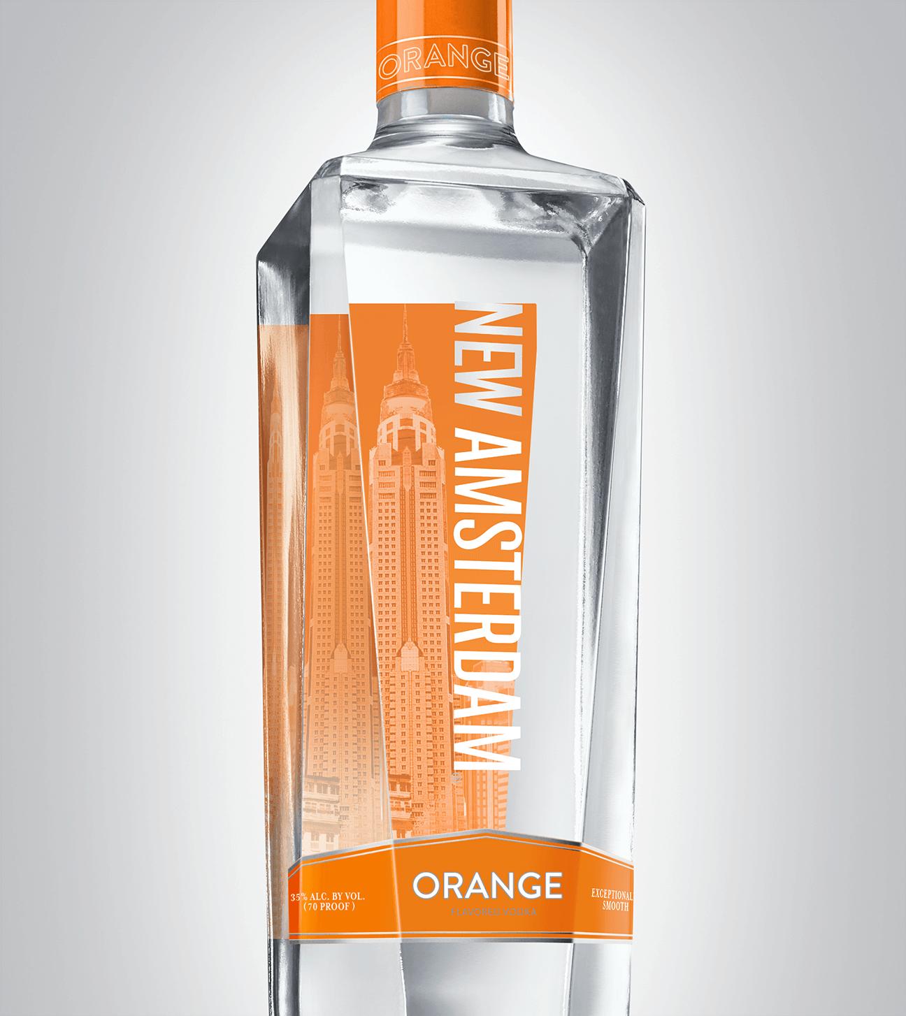 Bottle of New Amsterdam Orange