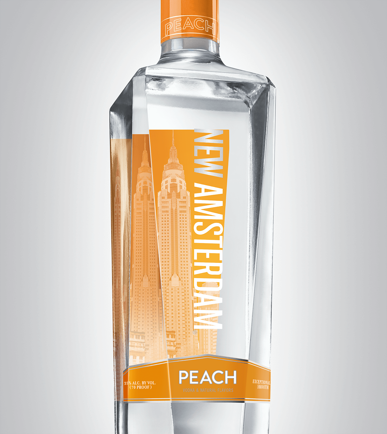 Bottle of New Amsterdam Peach