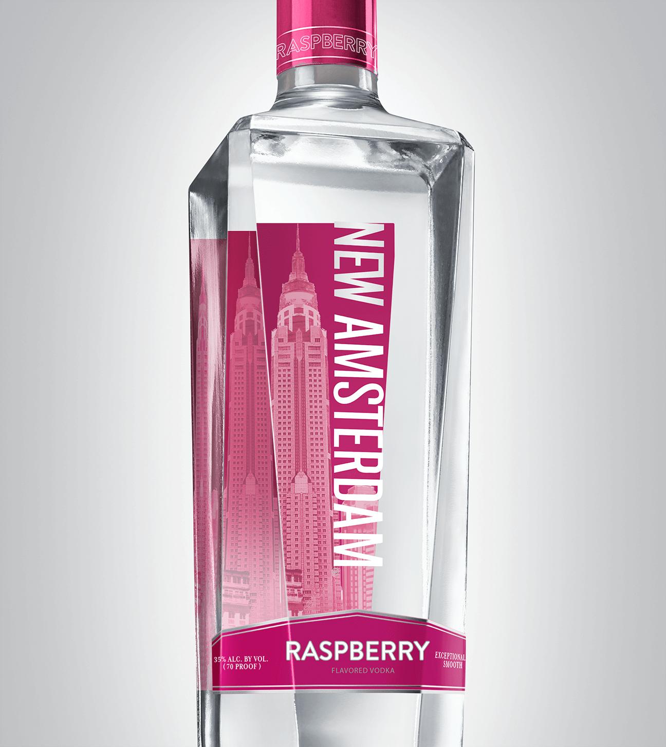 Bottle of New Amsterdam Raspberry