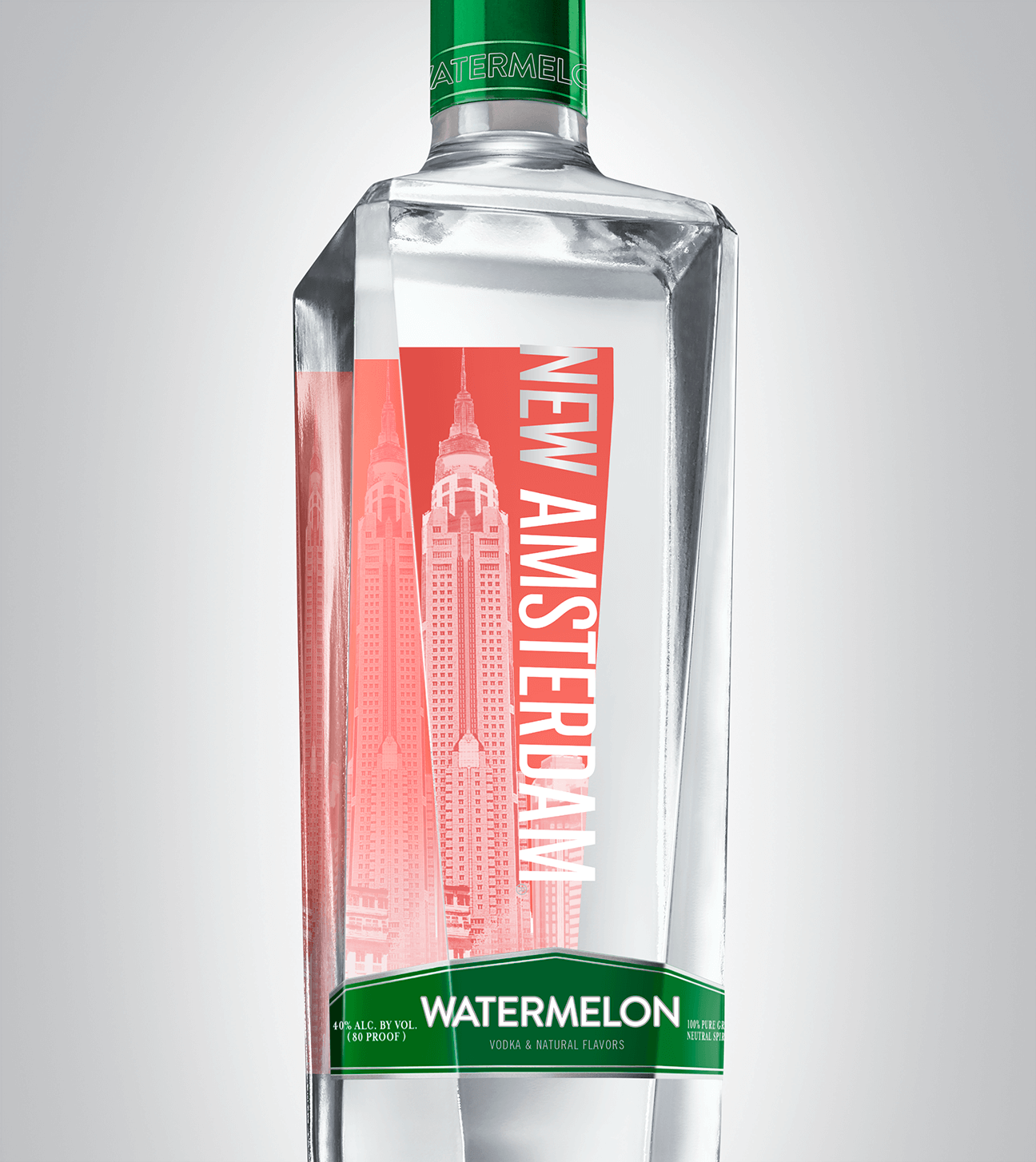 Bottle of New Amsterdam Watermelon