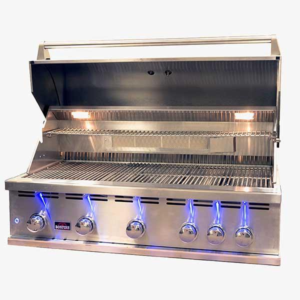 Bonfire 5 Burner 42 Inch Built-In Propane Gas Grill ...