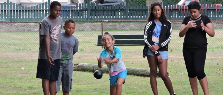 Kids Lawn Bowling