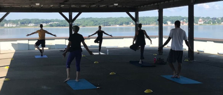 Yoga & Pilates Class at West Beach