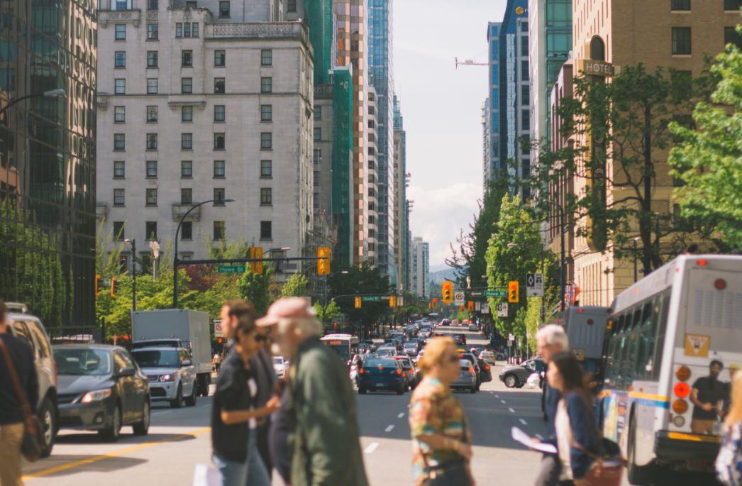 poverty line - city street
